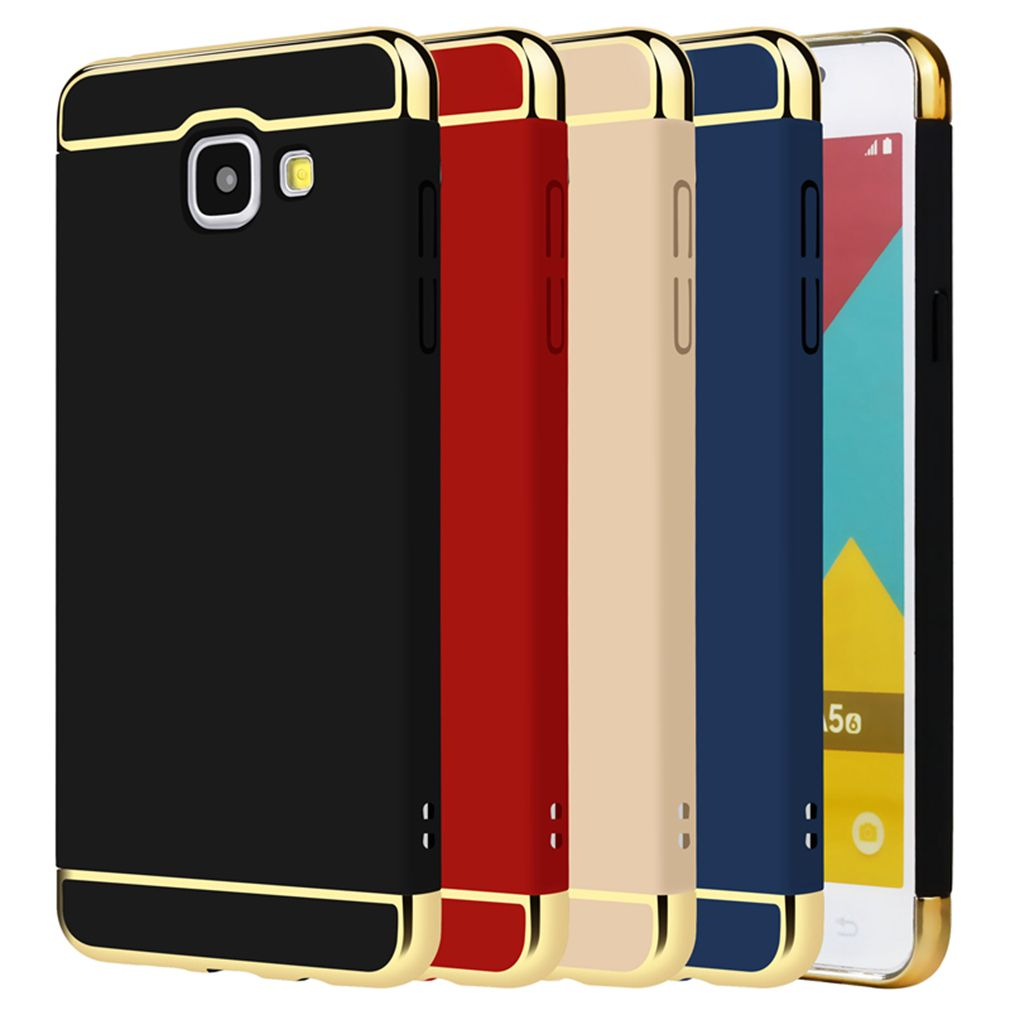 Hard Plastic Case For Samsung Galaxy A5 2016 A510 A510f Brand Matte Cover Phone Bag Case 3 In 1 Case For Samsung A5 2016 Phone Cases Case Samsung Galaxy