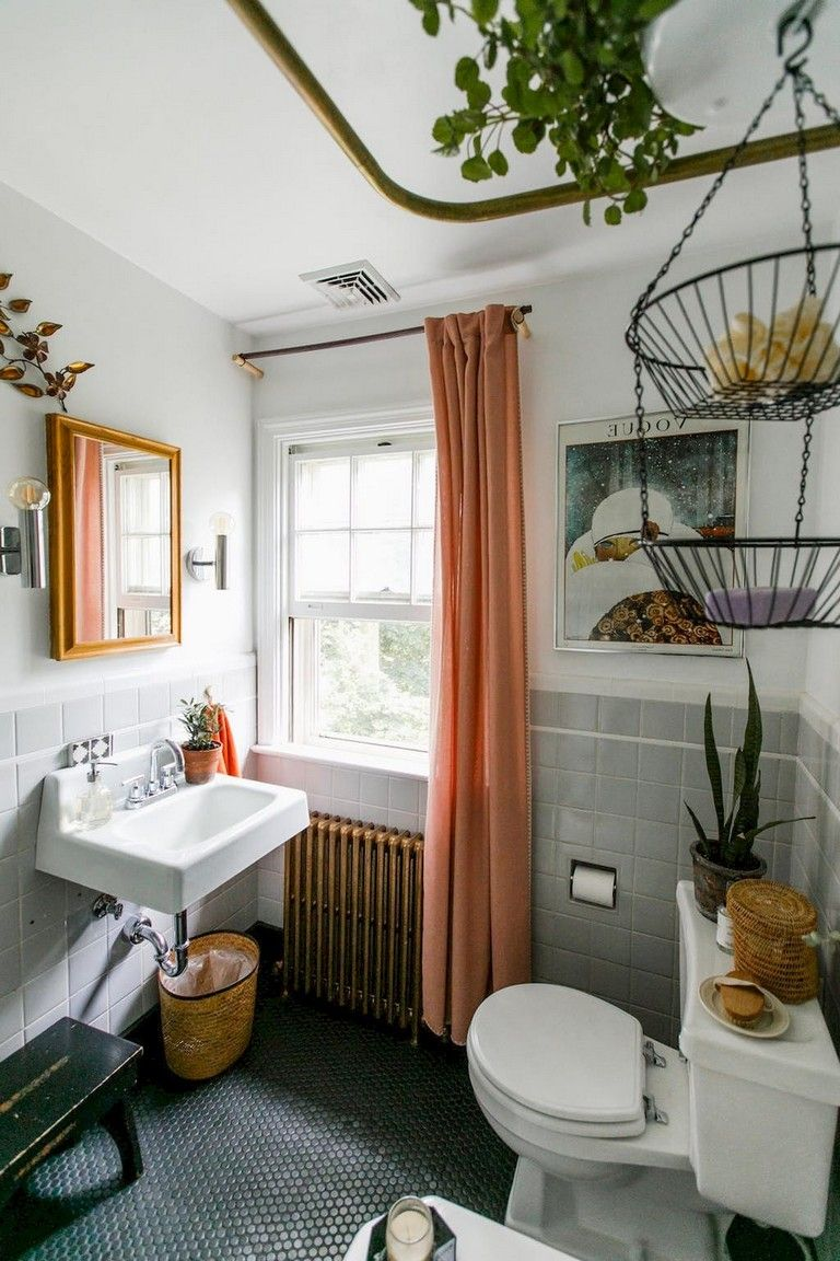 60 Cozy Apartment Decorating Ideas Small Bathroom Decor Cute