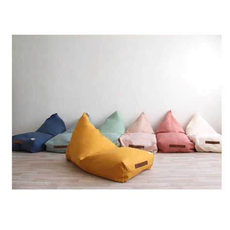 Amazing Pile Of Nobodinoz Oversized Beanbags In Various Colours Pdpeps Interior Chair Design Pdpepsorg