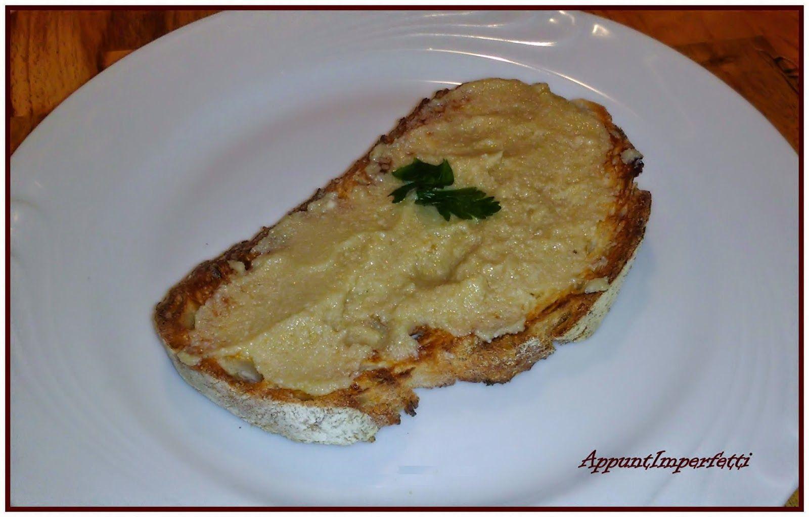 AppuntImperfetti: Bruschetta con uova di sogliola
