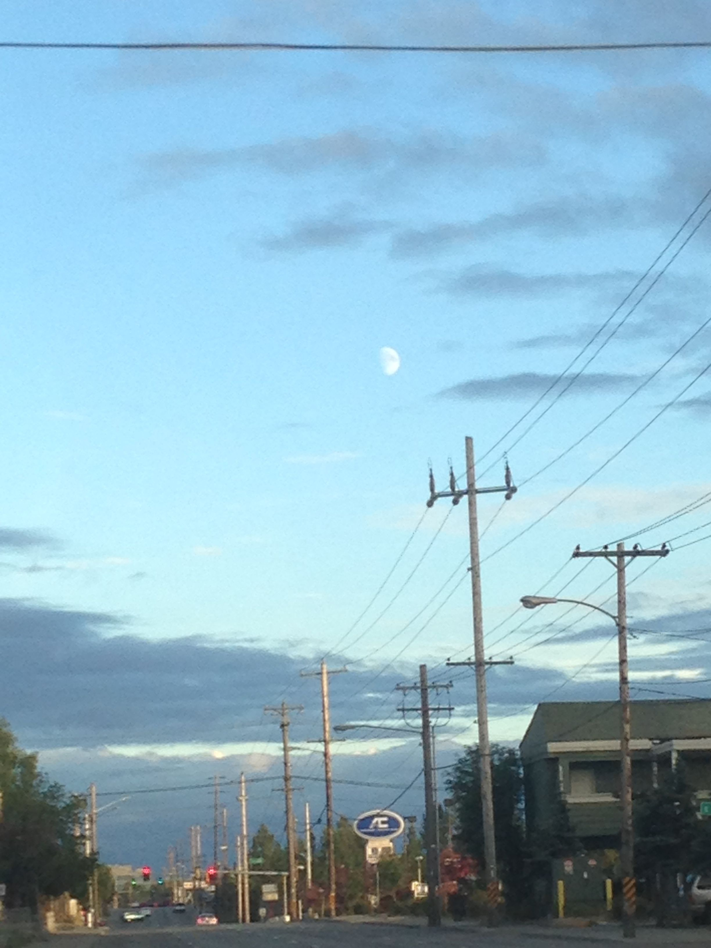 I see you moon