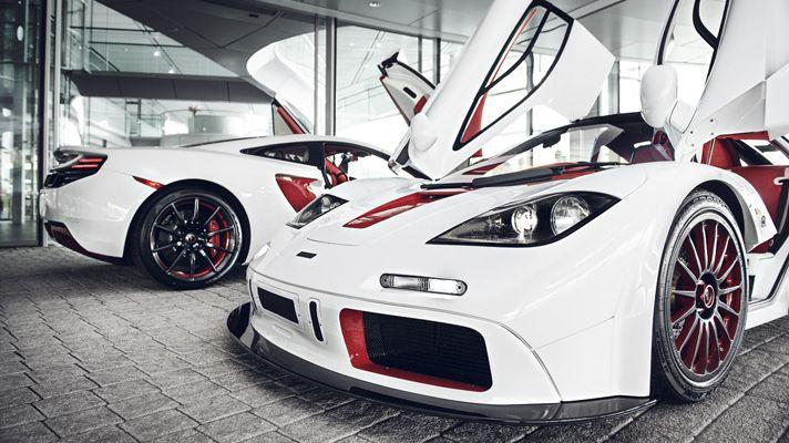 A look inside McLaren's bespoke dept via topgear.com