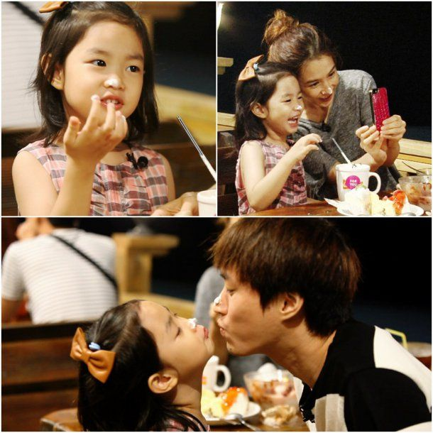 """Haru Shows How Much She Resembles Mom Kang Hye Jung in """"Superman Returns"""""""