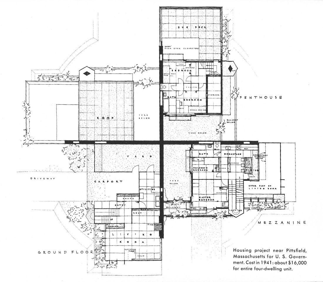 Wright Chat :: View topic - Frank Lloyd Wright Suntop\'35/Cloverleaf ...