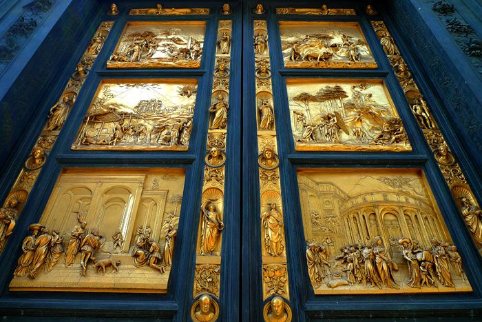 \u201cEducation is the key to unlock the golden door of freedom\u201d George Washington Carver Photo of Florence Baptistery Doors \