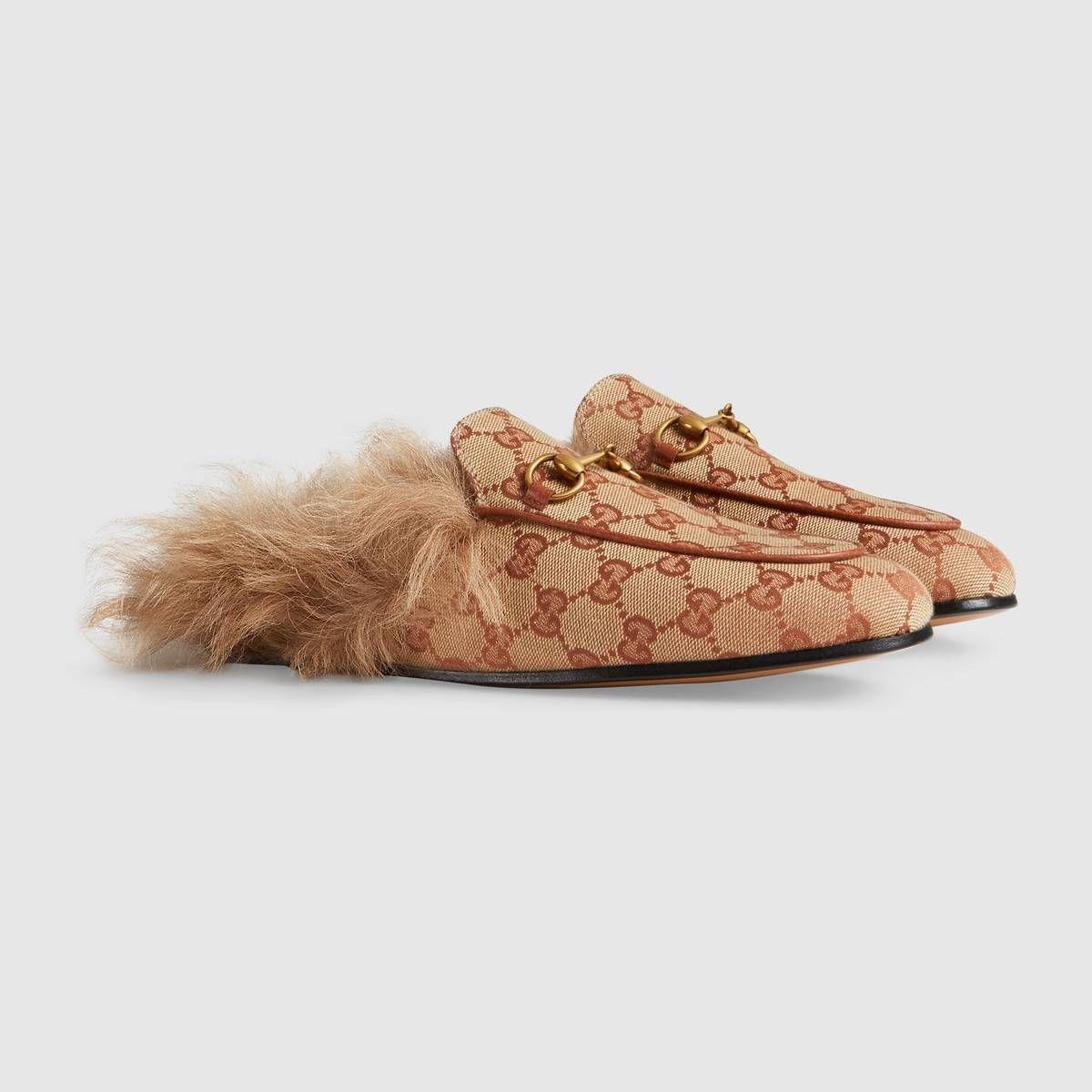 e2197c922262 Gucci - Princetown GG canvas slipper ( 890) Gucci Slipper