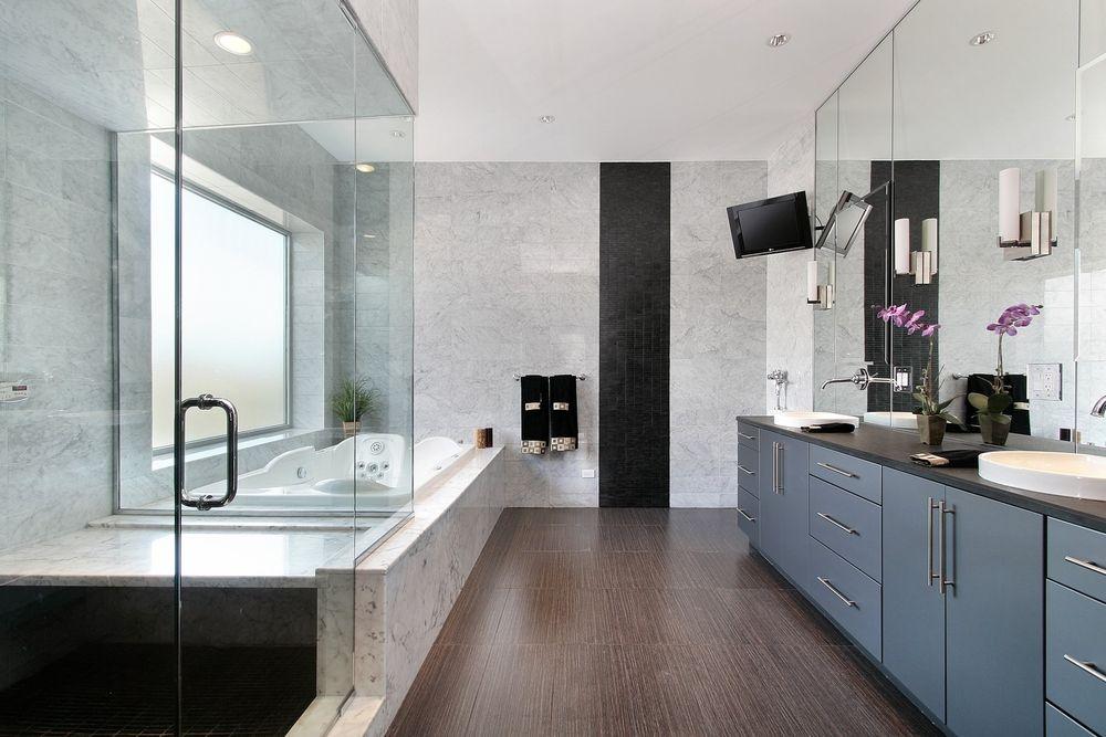 120 Sleek Modern Master Bathroom Ideas for 2018 | Bathrooms ...