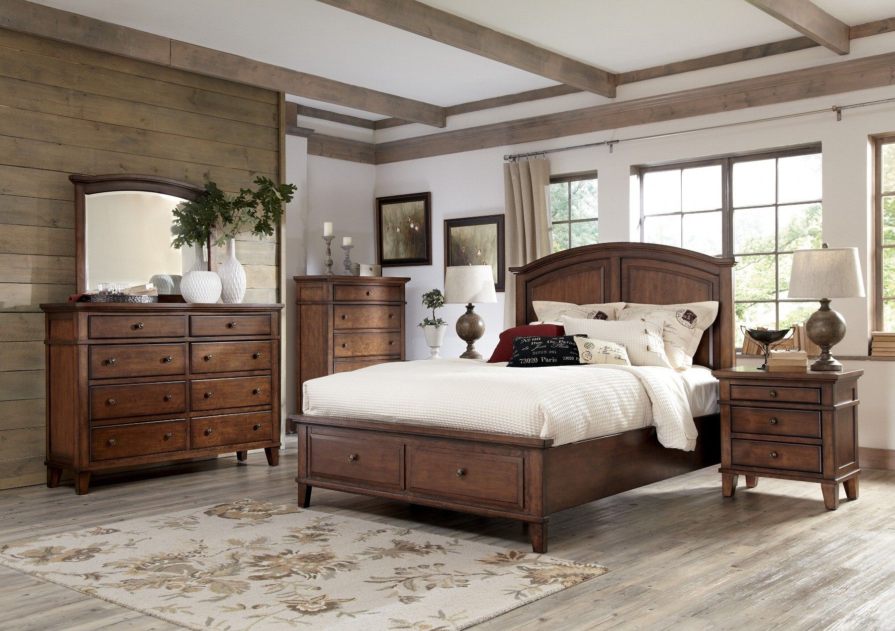burkesville panel storage bedroom set b565 57 54s 96s room ashley