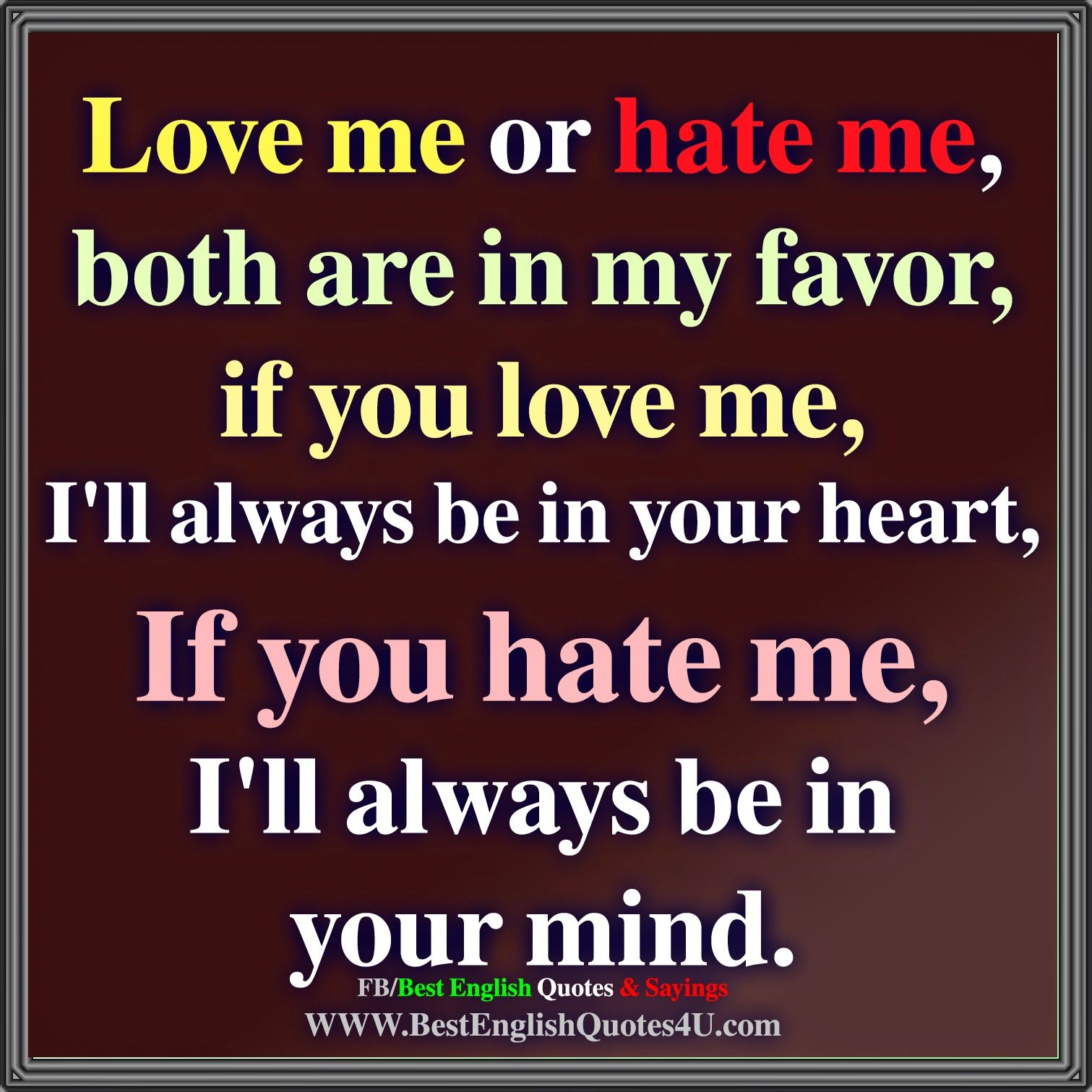 Quotes Against Love In English: Best'English'Quotes'&'Sayings - Love Quotes