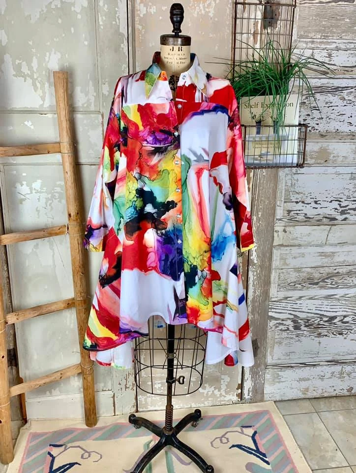 DILEMMA PS-1045 Pollock Swing Dress-VITAL – Absolutely Abigail's