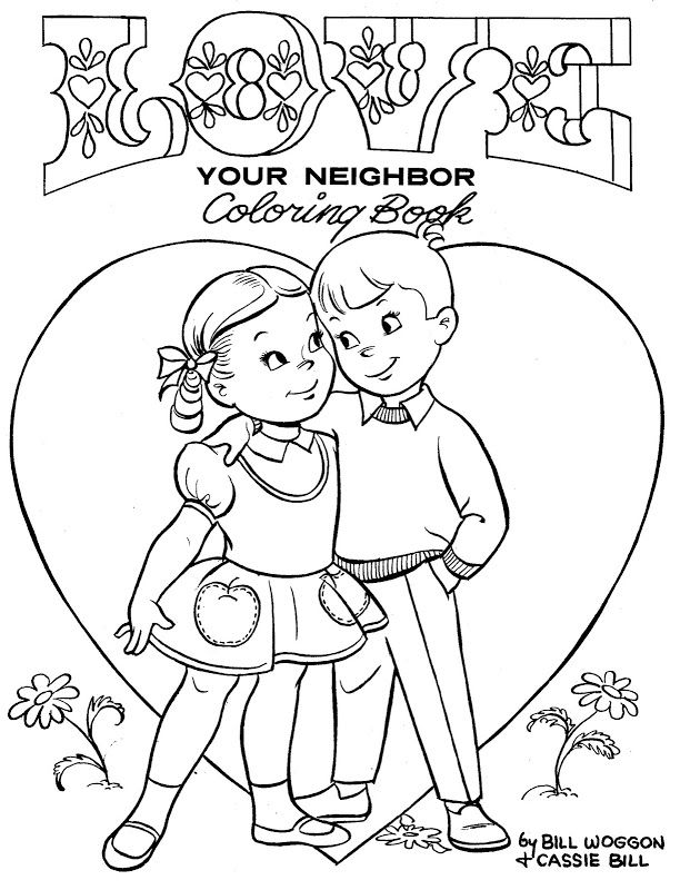 Coloring Book~LOVE YOUR NEIGHBOR - Bonnie Jones - Álbumes web de ...