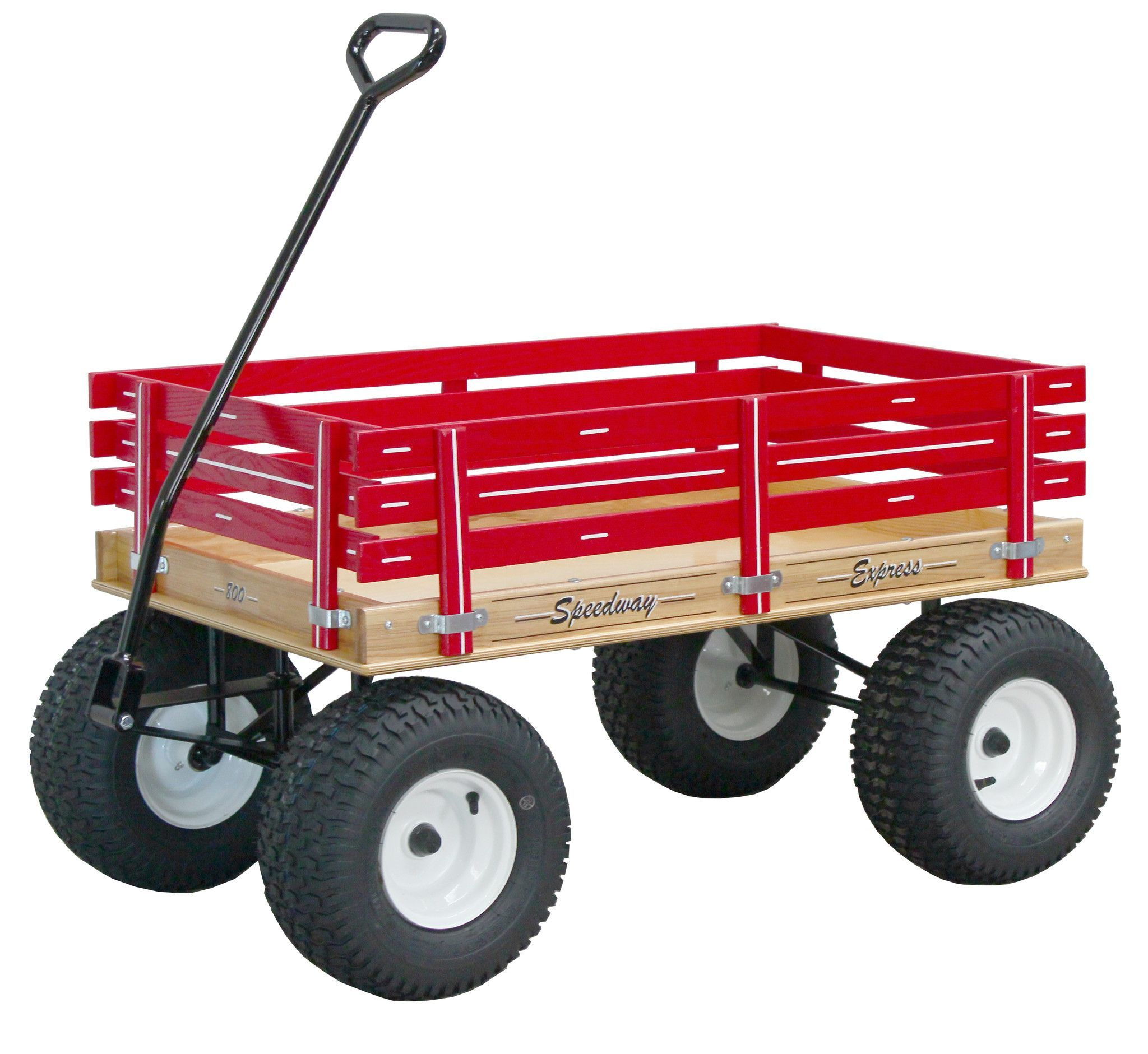 AMISH BEACH & GARDEN WAGON with 6½ Wide Off Road Tires * 4 Color Choices * USA Made