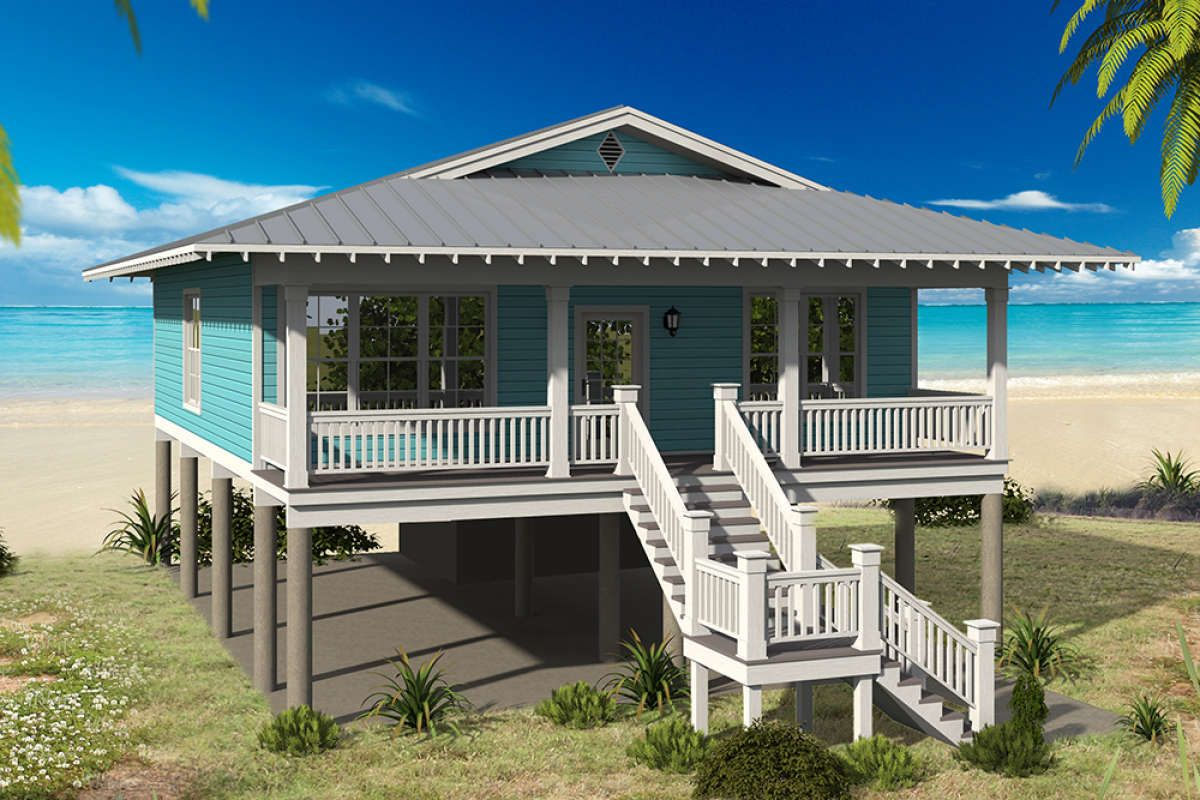 Vacation House Plan 940