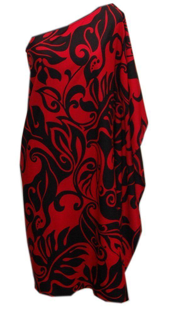 909bf75bfb67 Jade Fashions Inc. Womens Hawaiian Aloha Friday One Shoulder Short Dress