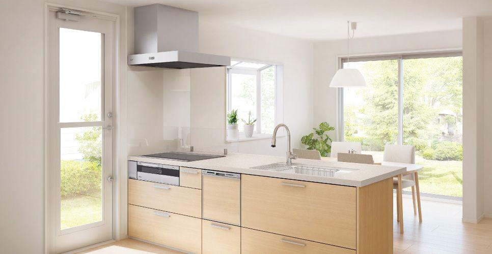 V Style Plan I 07 Img Kv01 Jpg 966 500ピクセル システムキッチン リビング キッチン