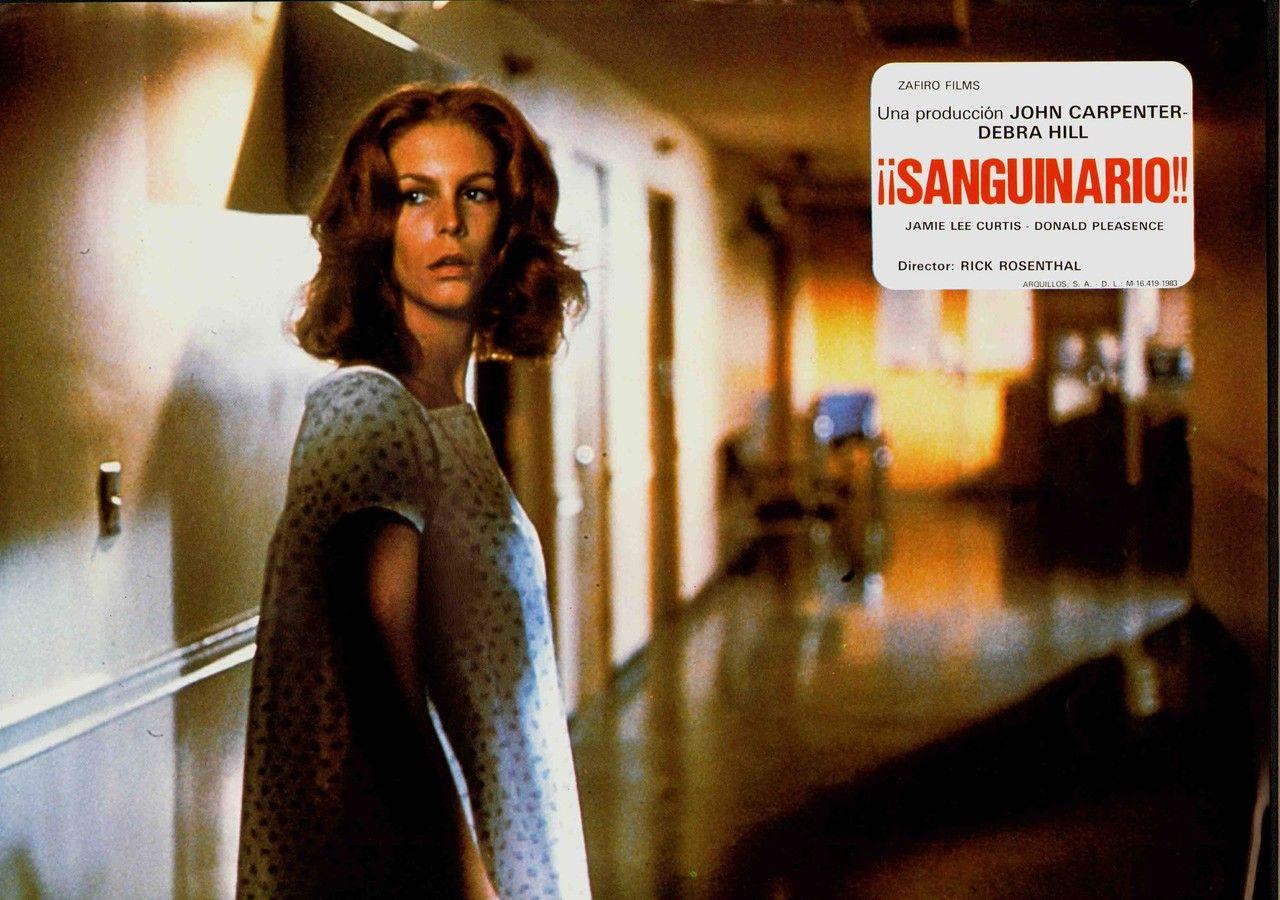 Spanish HALLOWEEN II (1981) lobby card. HALLOWEEN