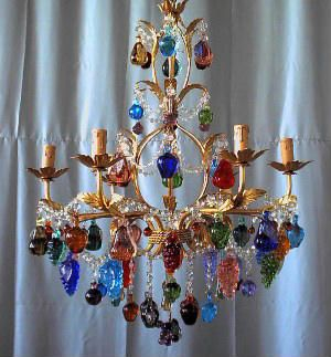 Murano Fruit Chandelier Chandelier Murano Glass Chandelier