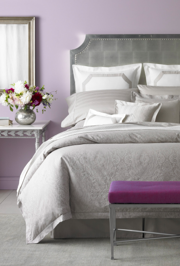 Indulge In The Finer Things In Life Lauren Ralph Lauren Bedding Home Decor Buy Now Purple Gray Bedroom Grey Bedroom Colors Bedroom Inspirations
