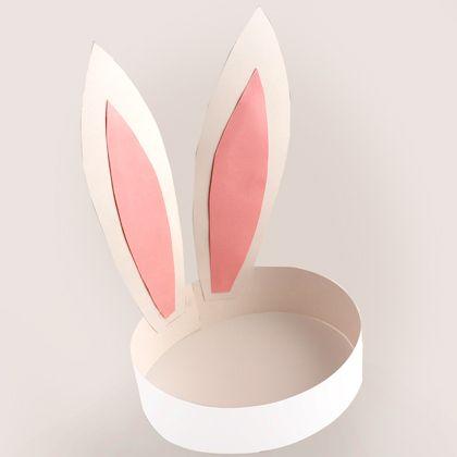 Easter Bunny Ears Template Basteln Ideen