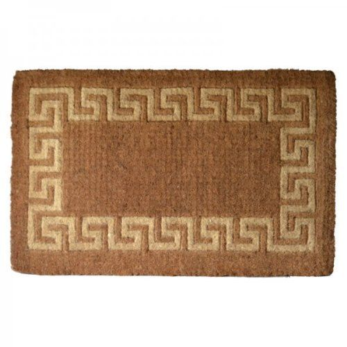 Large Size Greek Key Coir Rug Doormat 36 X 60 Door Mat By Imports