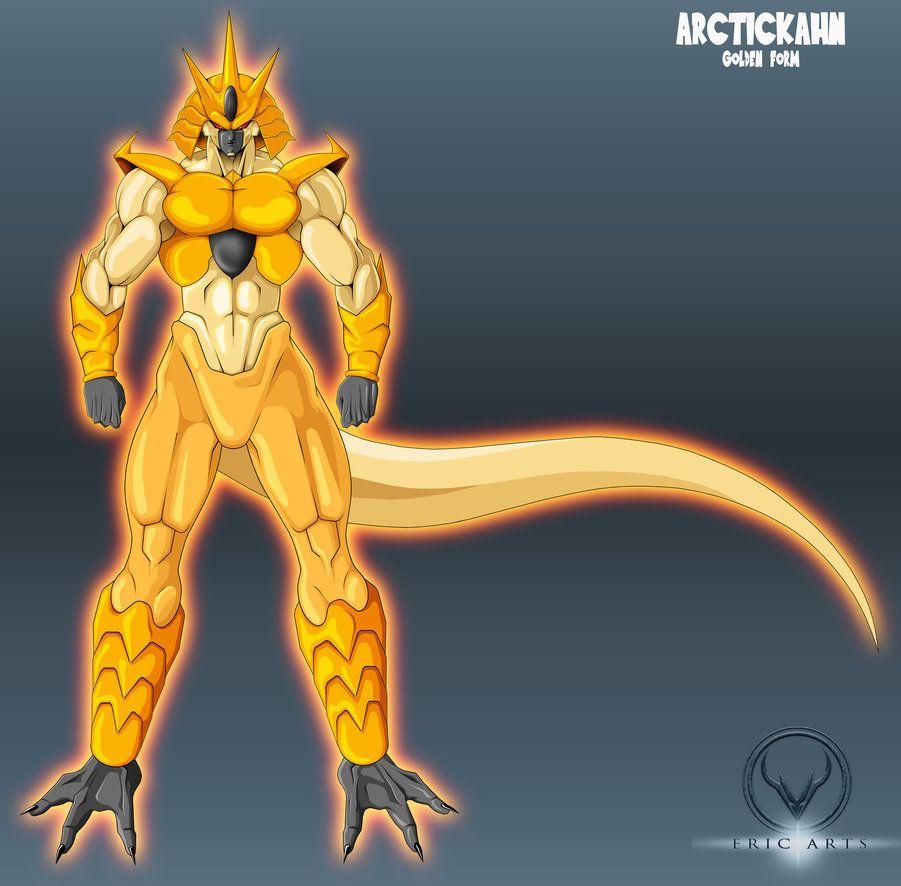 Golden Arctickahn By Eric Arts Inc Dragon Ball Super Art Dragon Ball Artwork Dragon Ball Art