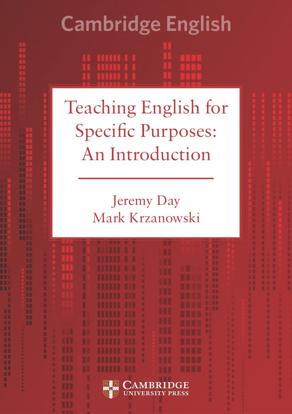 Teaching English For Specific Purposes An Introduction Cup
