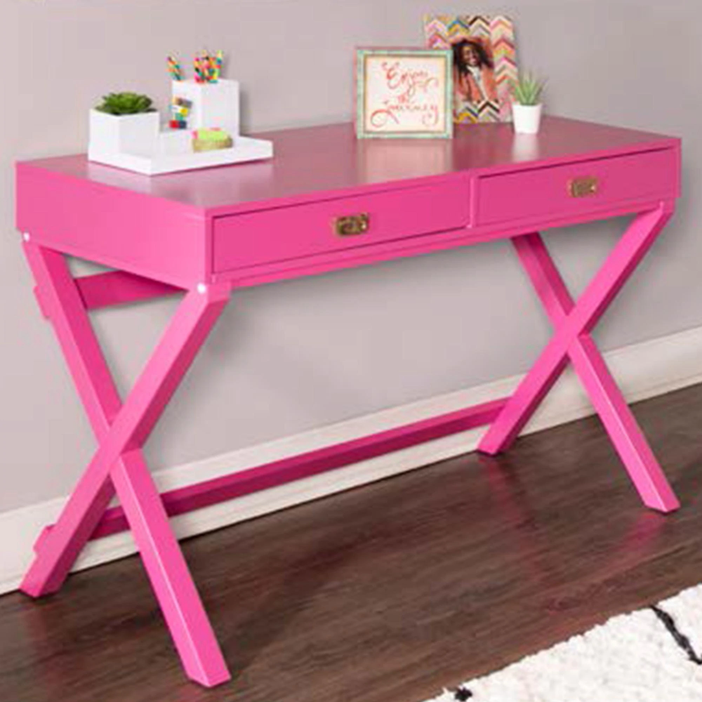 Linden Boulevard Peggy Writing Desk In Raspberry Nebraska Furniture Mart In 2020 Wood Writing Desk Writing Desk With Drawers Solid Wood Writing Desk