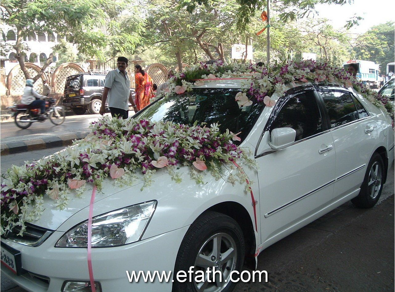 Image Detail For Indian Wedding Car Decoration Indian Wedding Car