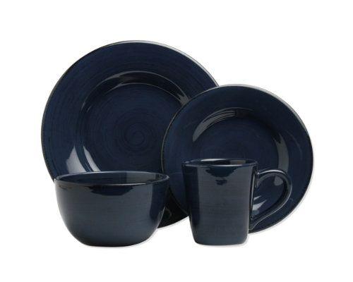 sonoma navy 16 piece dinnerware set  sc 1 st  Pinterest & sonoma navy 16 piece dinnerware set | mother nature pics Iu0027ve done ...