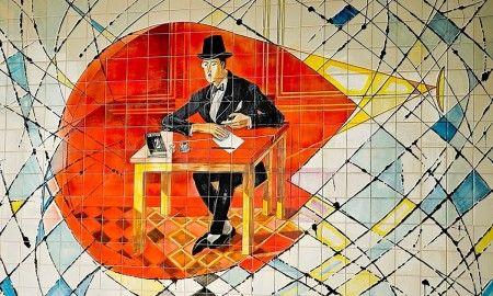 Como nasceu o português Fernando Pessoa