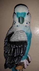 Wand Parkiet op stok 31 cm blauw - 3767553756361 - Avantius