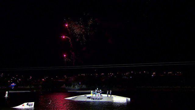 Evento de inauguração do Transfer da Red Bull no Naga Cable Park.