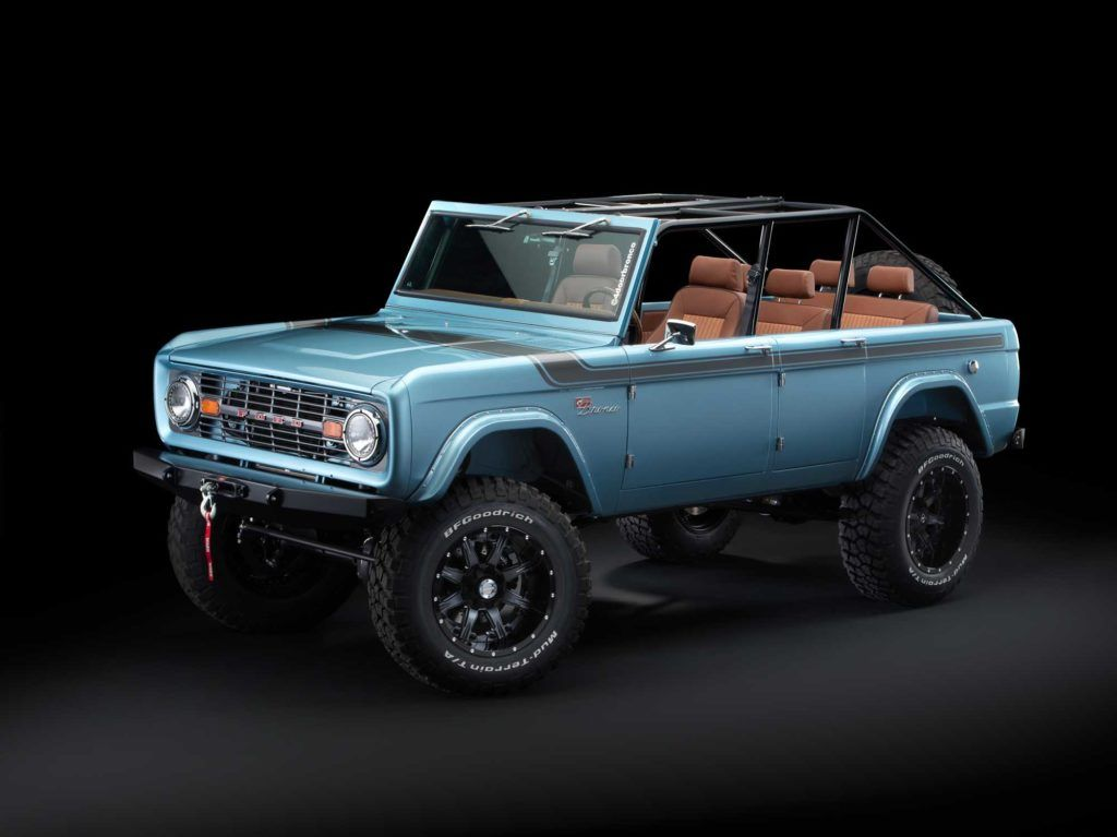 Bucklebrigade This 670 Hp Ford Bronco Rebuild Is A Thing Of Beauty