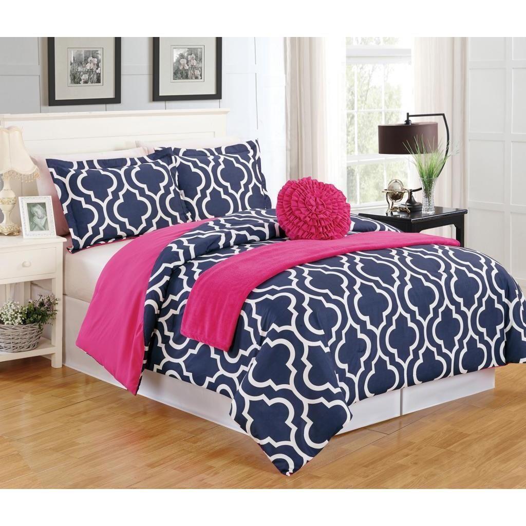 Geometric 5-Piece Comforter Set