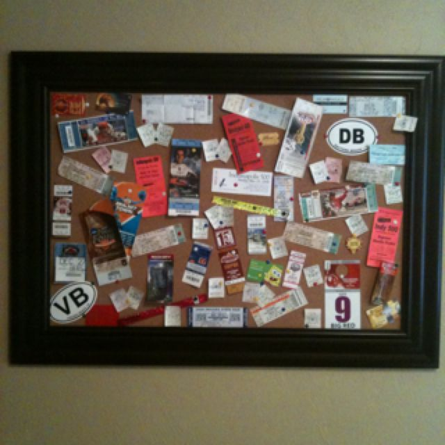 What to do with old movie tickets, concert stubs, etc I had tons - ticket collector sample resume