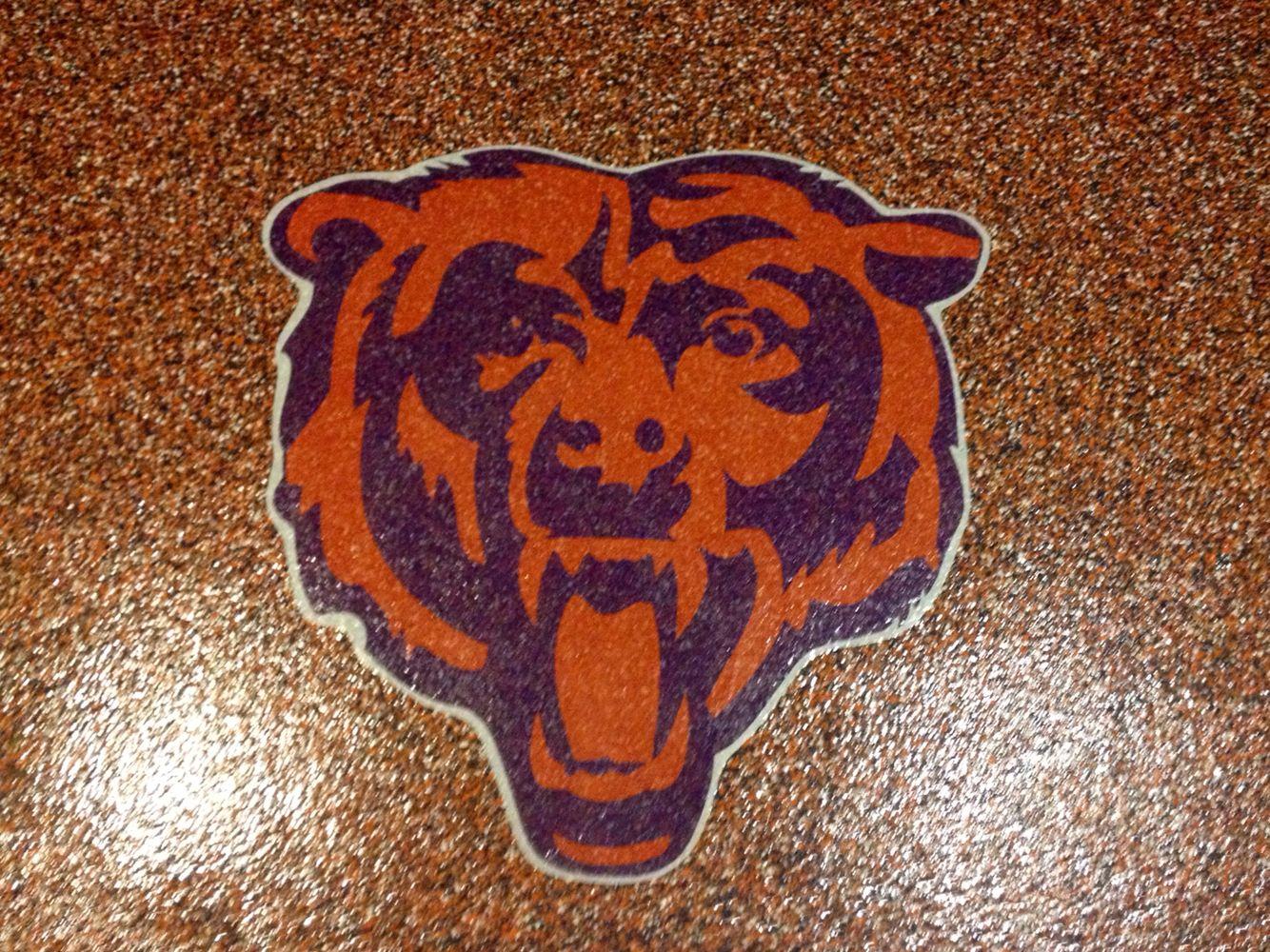 Chicago Bears Epoxy Floor Epoxy Floor Flooring Garage Floor