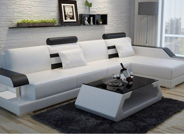 Homedirectltd modern lounge set future c wohn mit led