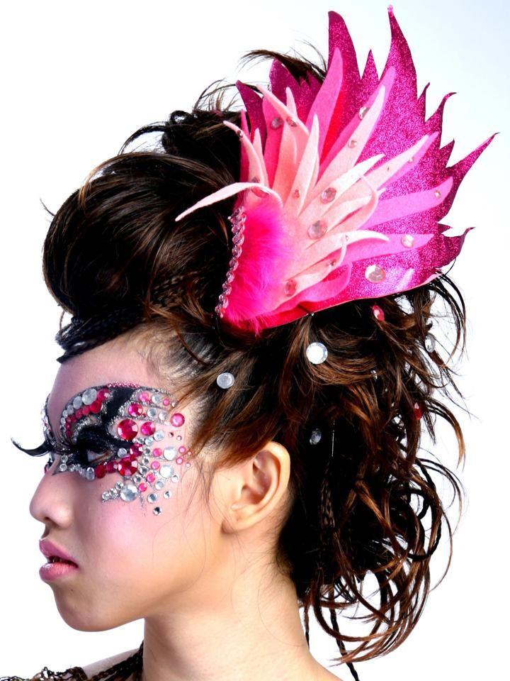 So beautiful makeup! Ladies, let's innovate! #eyeshadow #makeup #hairstyle #eyesmakeup #shadow #beautifulmakeup #eyeshadowmakeup #pinkmakeup #originalmakeup #attractivemakeup #parademakeup