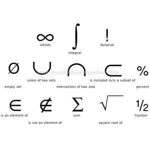 #mathematical science #symbols for bow ★☯★ #numbers #Math
