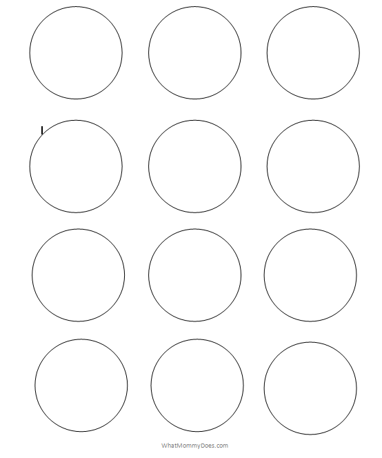 Free Printable Circle Templates