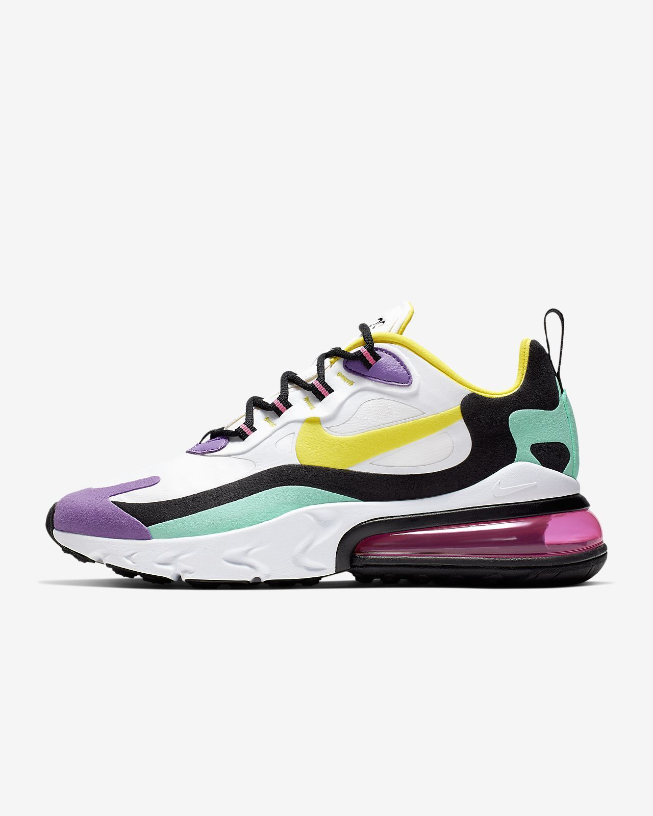 air max 270 react grigie