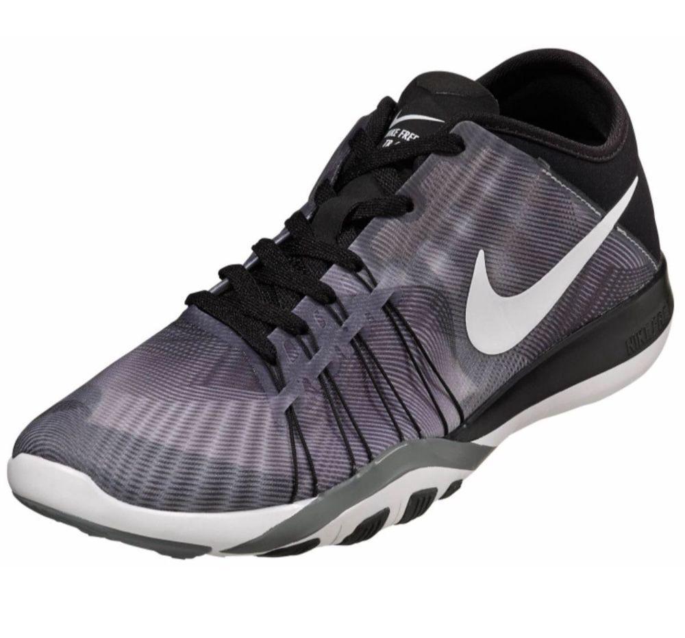 Wmns Nike Free Tr 6 Prt BlackWhite Cool Grey