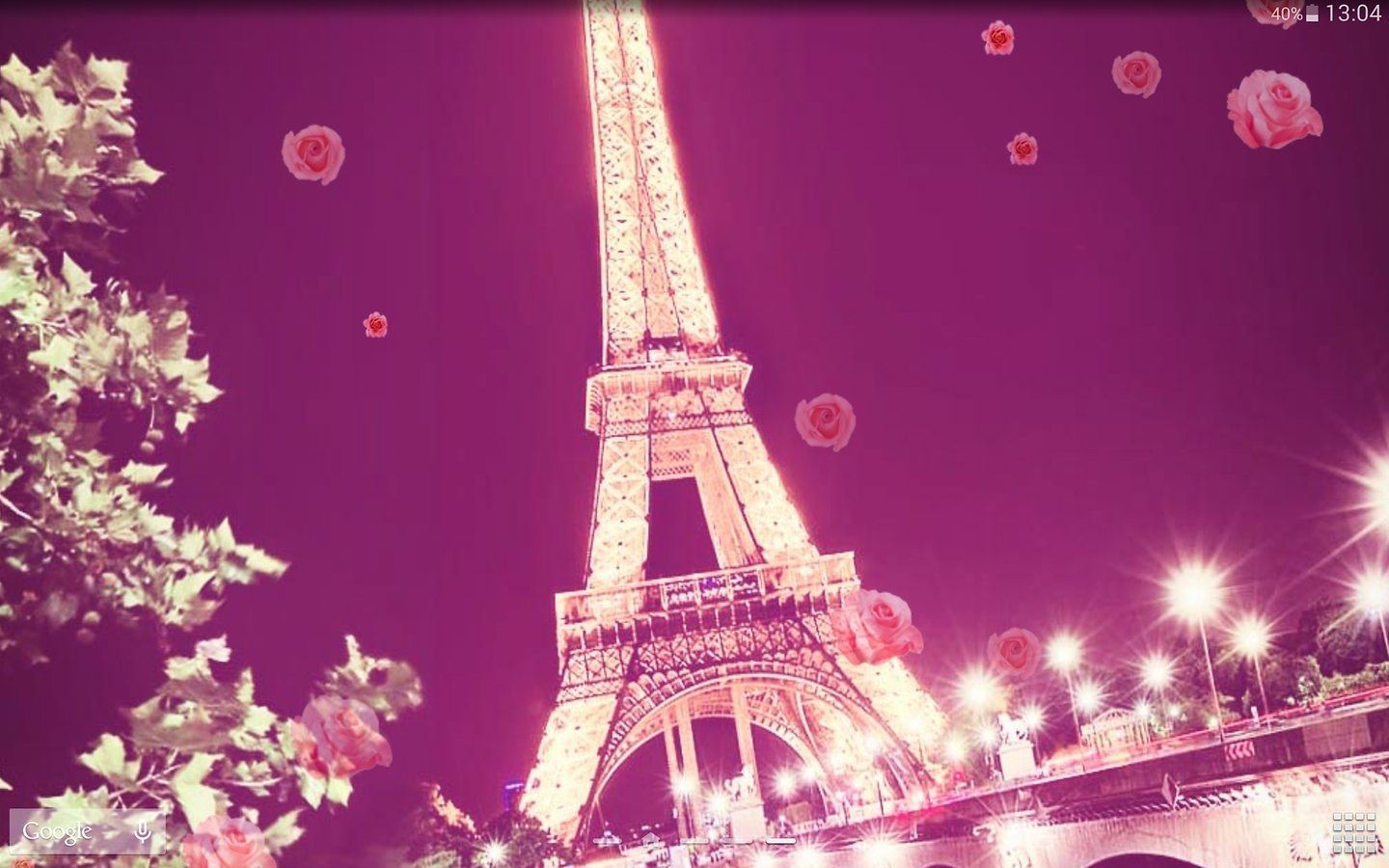cute wallpapers Pink paris wallpaper, Paris wallpaper