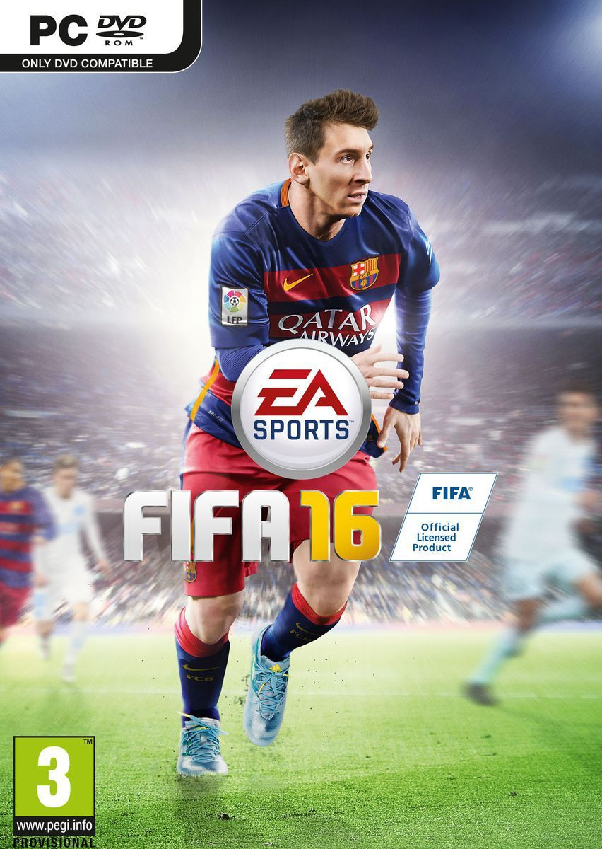 Download the LATEST FIFA 16 Crack 3DM Full Free with