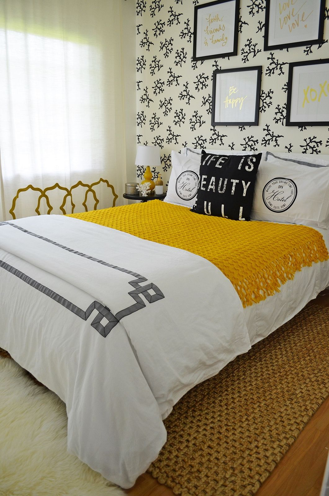Boutique Hotel Bedrooms: A Boutique Hotel Inspired Guest Bedroom