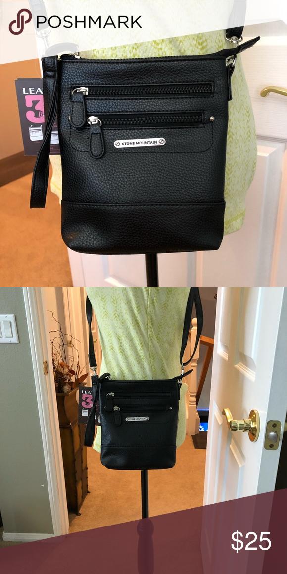 7ac5cc70ba Vertical crossbody bag black New vertical crossbody bag black Bags  Crossbody Bags