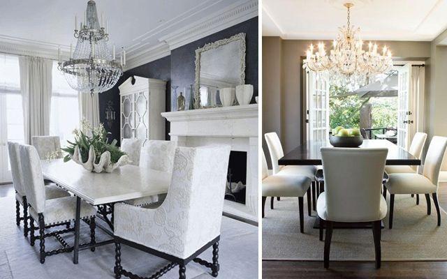 Comedores elegantes ideas para decorar el comedor for Muebles de comedor elegantes