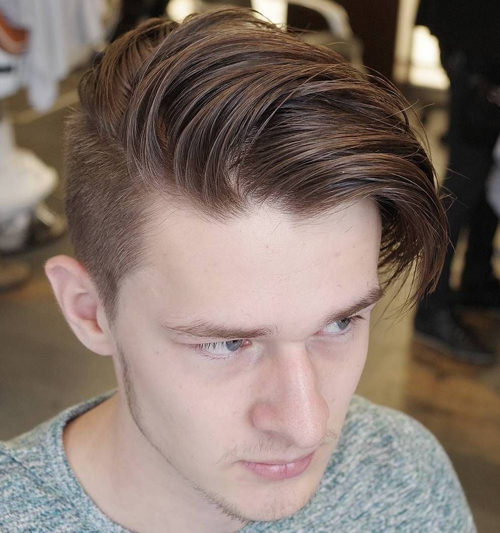 50 Stylish Hairstyles For Men With Thin Hair Medium Hair Styles Undercut Hairstyles Mens Hairstyles Undercut