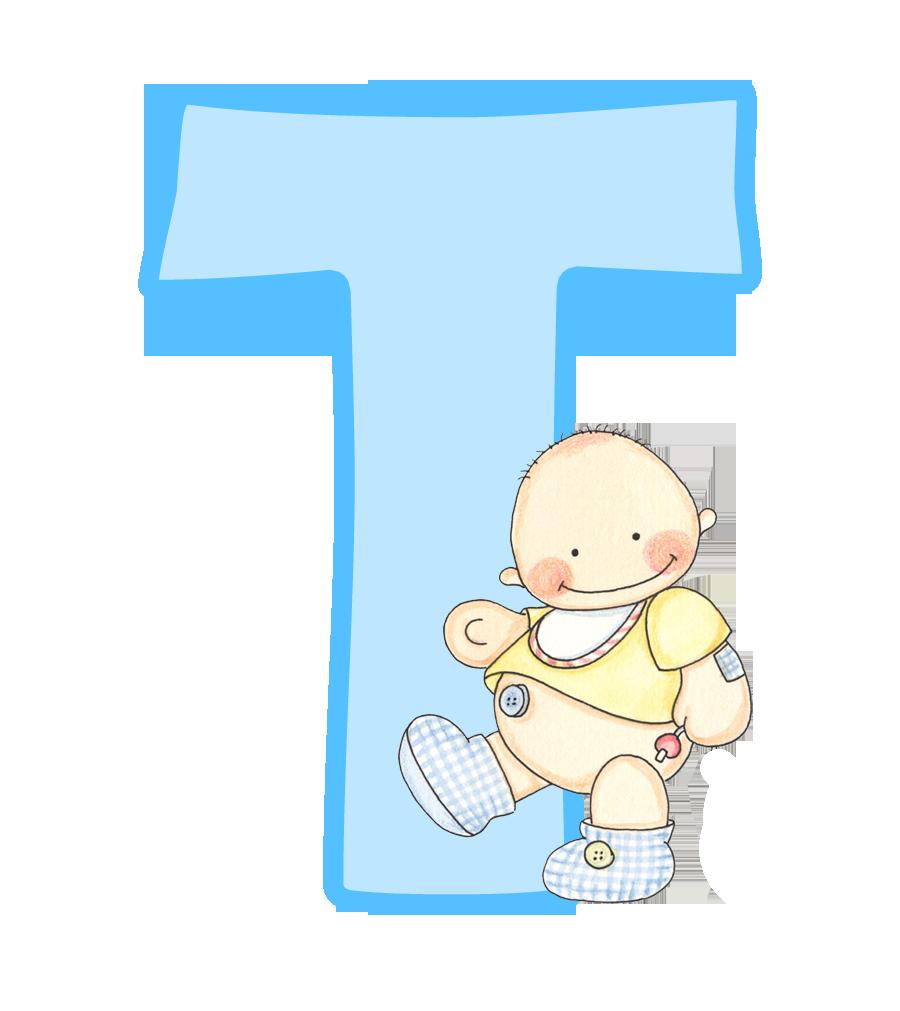 Alfabeto con lindo beb oh my alfabetos baby shower pinterest babies clipart baby and - Letras bebe decoracion ...