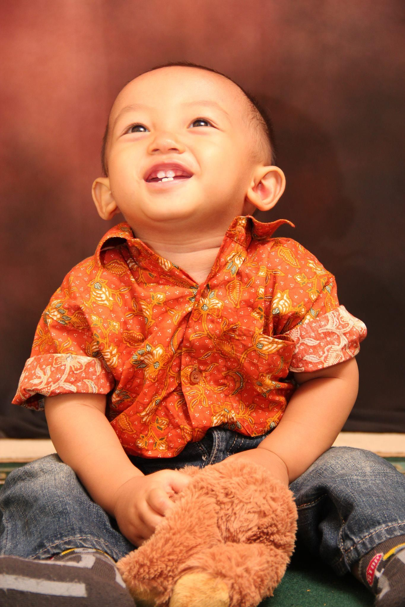 Rashya dengan Batik Keris Foto oleh Ibu Lia Libri dari Cibubur Terima kasih atas